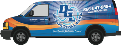 DGL Air Conditioning and Heating, Inc. has AC repair trucks ready for your home in Orange CA