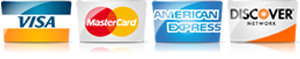 For AC in Orange CA, we accept most major credit cards.